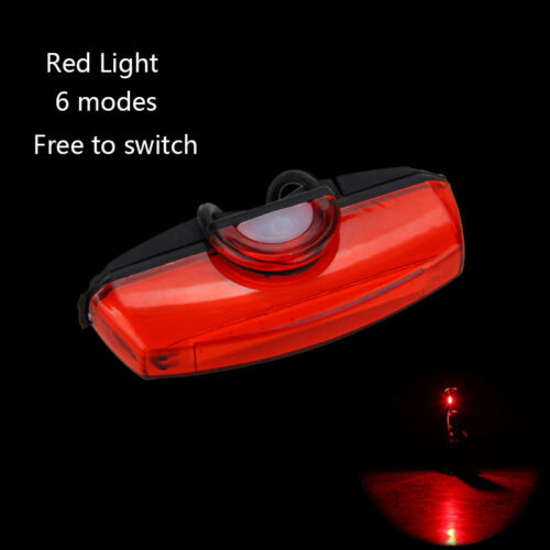 COB LED Bicycle Bike Cycling Front Rear Tail Light USB Rechargeable Waterproof