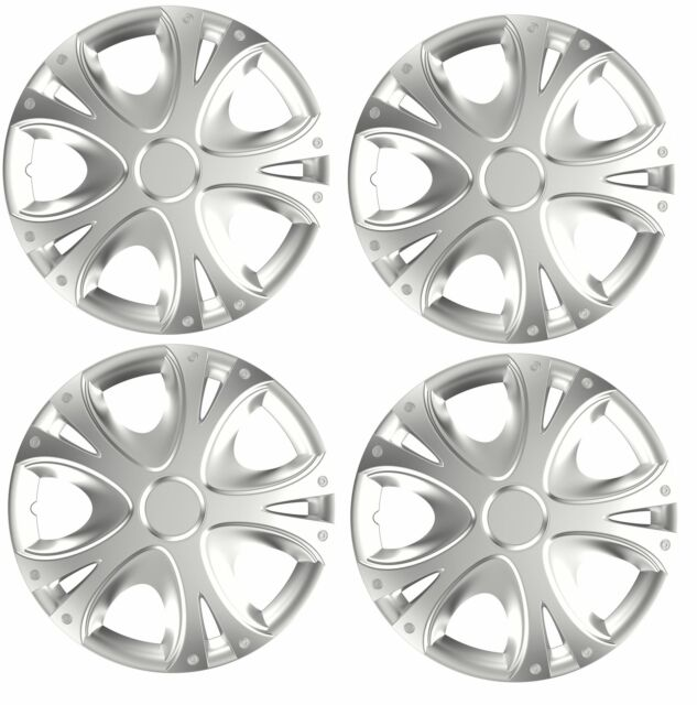 "4x Wheel Trims Hub Caps 14/"" Covers fits Ford Focus Mondeo Fiesta KA C-Max"