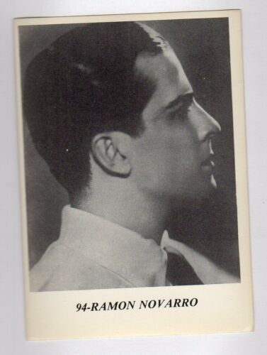 figurina ATTORI I MITI DI HOLLYWOOD NUMERO 94 RAMON NAVARRO