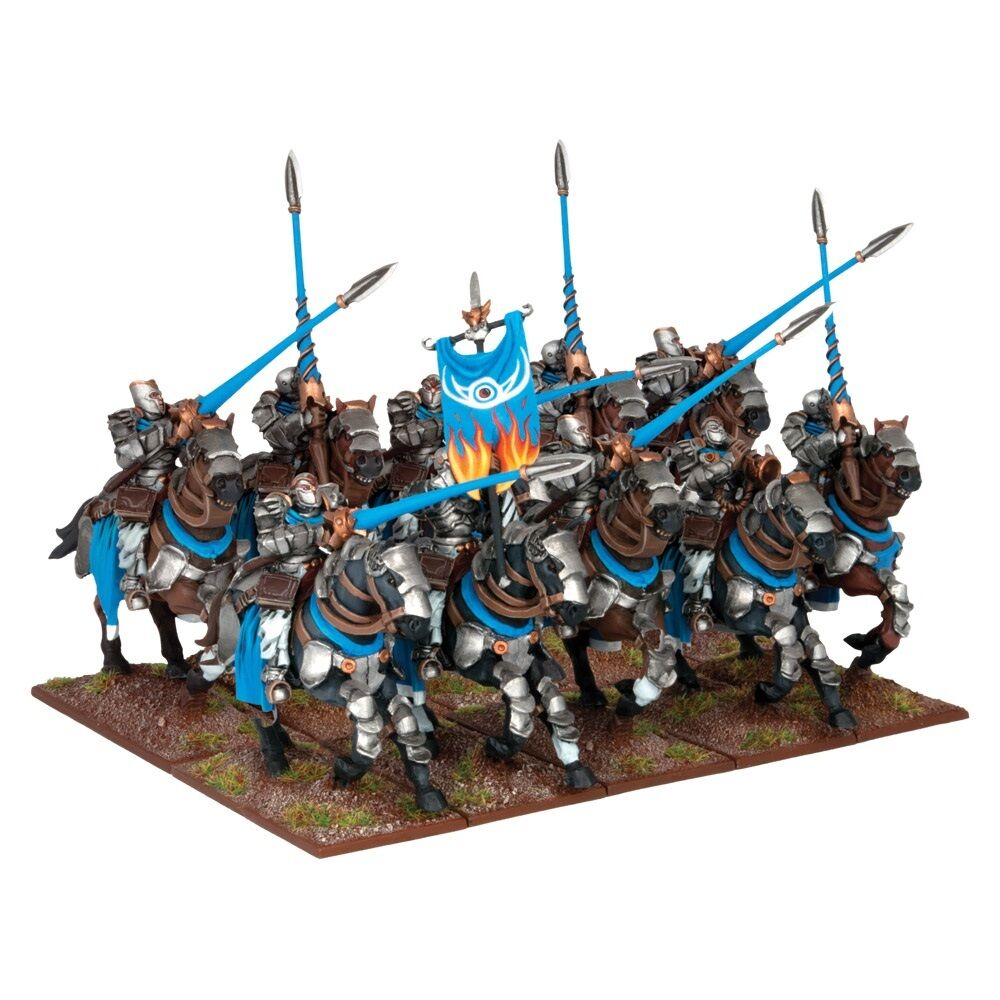 Kings of War Kow Basilean Paladin Knights (Mantic figures KWB25-1) free post