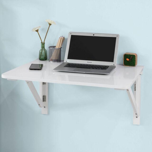 SoBuy Wall-mounted Drop-leaf Table, Folding Table Desk, 75x60cm, FWT05-W, UK