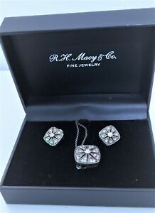 R.H. Macy CO Fine Jewelry Diamond & Sterling Silver ...