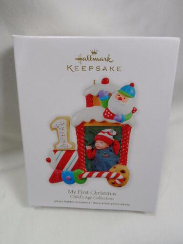 2011 Hallmark Keepsake Ornament My First 1st Christmas Photo Holder Child/'s Age