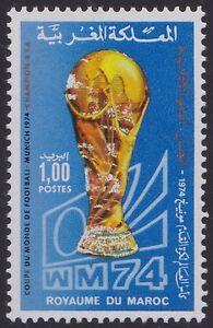 1974 Maroc N°711** Football Cote 46€50, 1974 Morocco Soccer Mnh