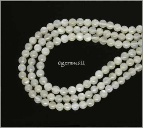 """15.5/"""" Natural Moonstone Round Beads ap.4.5mm #74118"""