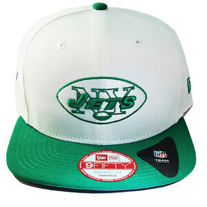 New Era NFL New York Jets Classic Snapback Hat 2tone Color Original ... 27905afb9de