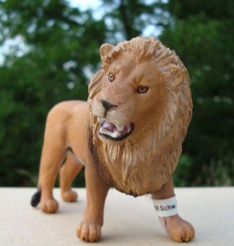 Schleich 14726 Lion Mâle-Neuf avec étiquette-Wild Life//Afrique-Safari