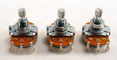 -Set of 3- Gotoh Standard Pot - Metric shaft - 250 k ohm - B-curve
