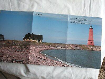 Briefmarken Aland Postfrisch Jahresmappe 1992