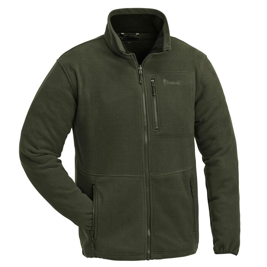 Pinewood Finnveden Fleece Jacke grün Outdoor Forst Jagd Wandern Freizeit