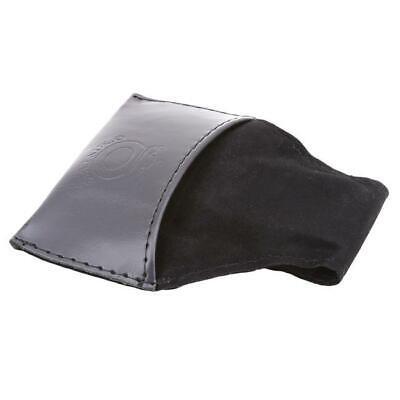 1PC Pool Snooker Billiards Chalk Leather Bag Black Cue Powder Holder Pouch Case