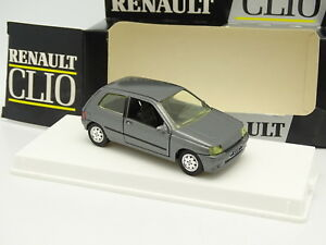 Solido-1-43-Renault-Clio-Grise-C