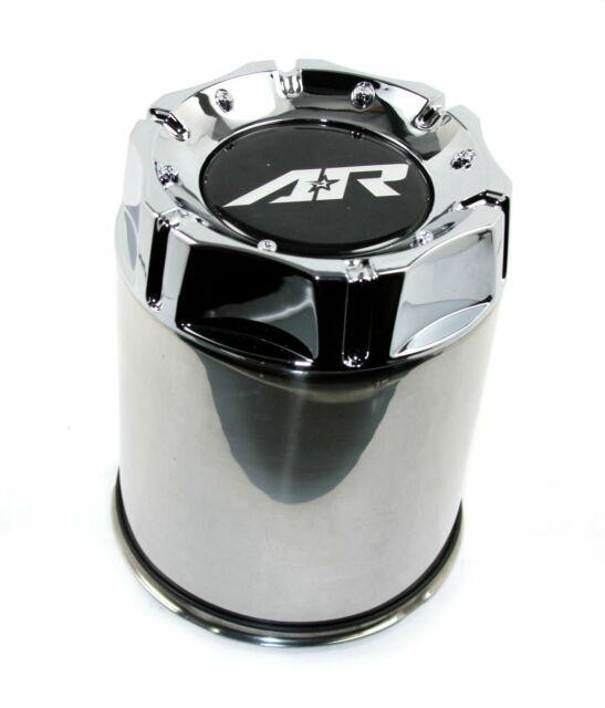 4 American Racing Chrome Center Caps 5//6L XD301 Turbine AR923 Mod 12 AR172 Baja