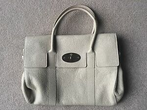 1d6f5bc2f0 Image is loading Mulberry-Icon-Bag-Bayswater-Cream-Glossy-Goat