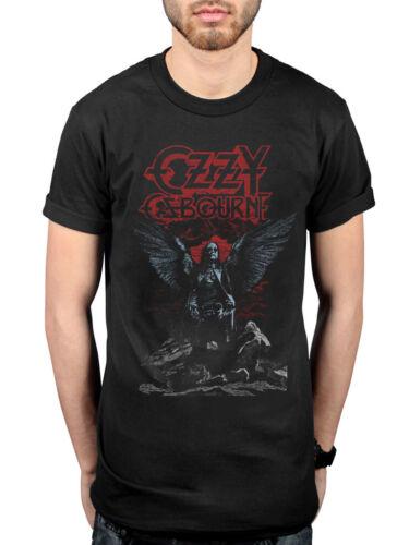 Official Ozzy Osbourne Angel Wings T-Shirt Speak Of The Devil Blizzard Of Oz