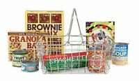 Melissa And Doug Grocery Basket , New, Free Shipping