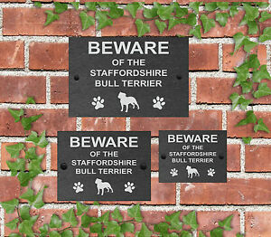 Beware-of-the-Dog-Slate-Door-Gate-House-Sign-3-Sizes-All-Breeds-available-M-Y