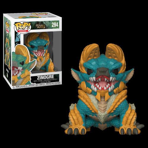 Monster Hunter - Zinogre - Funko Pop! Games: (Toy New)