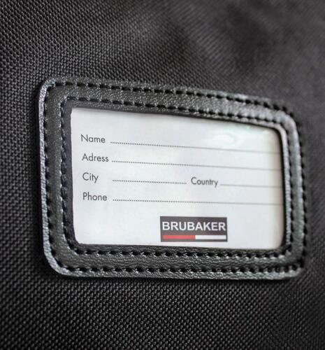 BRUBAKER /'Grenoble/' Sac à Chaussures /& Housse à Ski 170 Doré 190 cm Noir