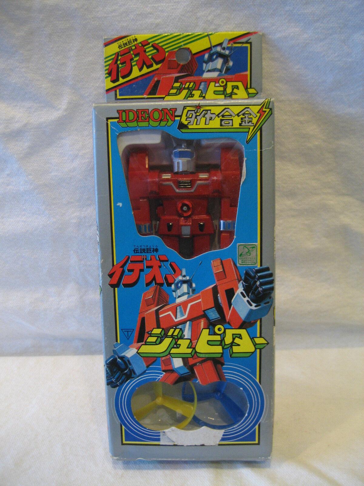 MIB vintage Space Runaway IDEON chogokin diecast metal Japanese toy Japan ROBOT