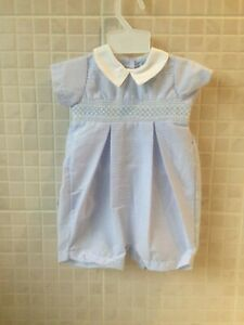 Baby Boys Clothes Romper Spanish Style Blue Smocked 0 3 Months 3 6 Months 6 9 M Ebay,Benefits Of Houseplants