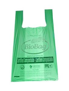 Bundle of 50 BioBag Biodegradable T-Shirt Bags (BB-TSB-50)