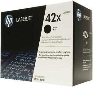 HP Q5942X 42X Genuine Toner Cartridge NEW