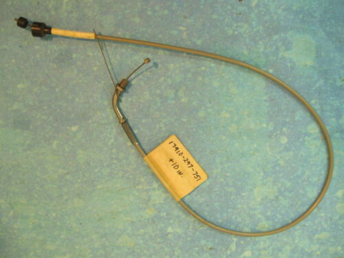 HONDA CL350 NEW UPPER THROTTLE CABLE X-LONG  CL 350 K2   17910-297-751