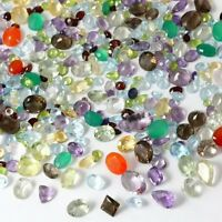 100+ Carats Mixed Gem Natural Loose Gemstone Lot Wholesale Loose Mixed