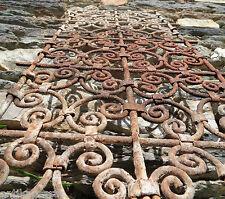 108cm Grille Fenetre Fer Forgé Ancien Maroc Antique Iron Window Morocco Africa