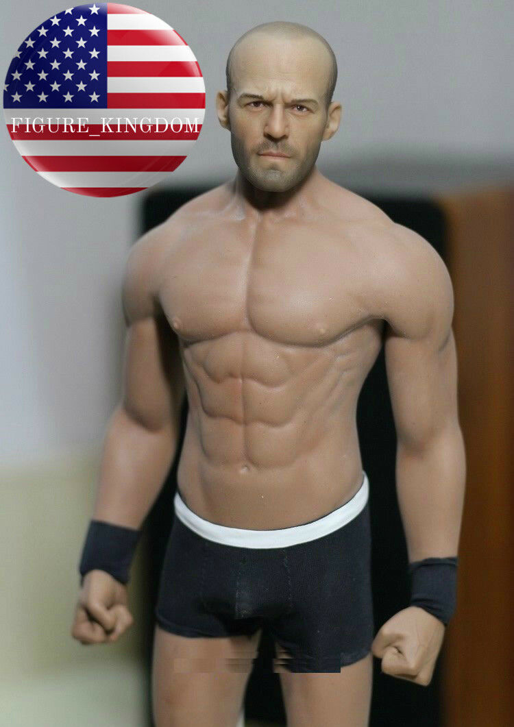 1 6 Scale Jason Statham with PHICEN M33 Seamless Male Muscular Figure Body Set