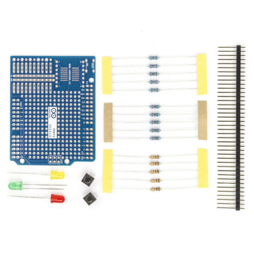 LED Arduino Proto Extension Kit Foro Griglia//prototipi-superficie Shield per ONU