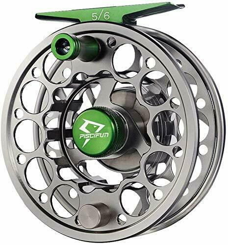 Sword Fly Fishing Reel with CNC-machined Aluminum Alloy Body 3/4, 5/6,