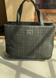 Auth Vintage Burberry Tote Bag