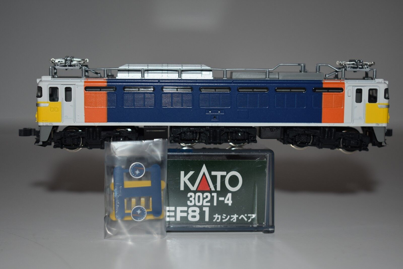 N Scale Kato 3021-4 EF81 Cassiopeia Electric Locomotive J6357