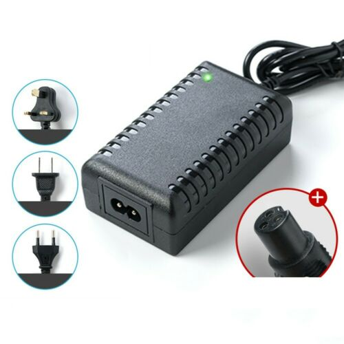 Power Adapter Battery Charger 42V 2A For Balance Hoverboard Scooter Ebike Black