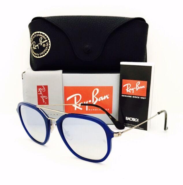 517875163d Ray Ban Rb4273 6259 Sunglasses Blue Bronze Silver Gradient Flash Lens Unisex