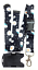 Spirius Lanyard Neck Strap with safety clip Badge holder for 2 ID cards