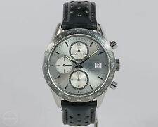 TAG Heuer Stainless Steel Carrera Chrono Cal. 16 Ref. CV2011 w/ Leather Strap