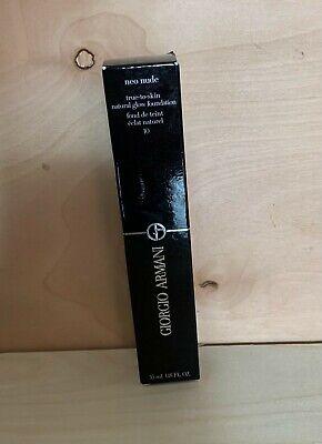 Giorgio Armani Neo nude True- skin natural glow foundation 35 ml #4 BOXED   eBay