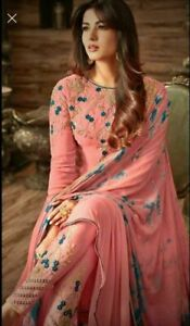 Pakistani Designer Stitched Salwar Suit Indian Traditional Palazzo Kurta Dress