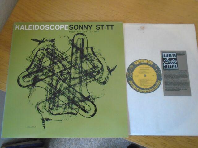 SONNY STITT KALEIDOSCOPE USA OJC-060 1983 VINYL LP ~TOP JAZZ BOP