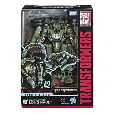 Transformers Studio Series 42 Constructicon Long Haul Voyager MISB in hand USA