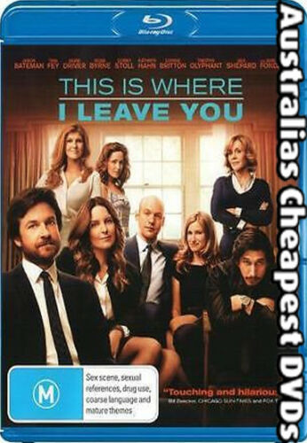 1 of 1 - This Is Where I Leave You Blu-ray NEW, FREE POSTAGE WITHIN AUSTRALIA