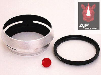 F167a LH-X100 Adapter Lens Hood + UV Filter + Shutter button for FujiFilm X100T