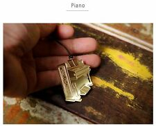 Piano Gold-plated Stainless Metal Music Instrument Art Bookmark - Perfect Gift