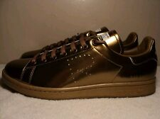 ADIDAS STAN SMITH RAF SIMONS GOLD SIZE 9.5 YEEZY 350 BOOST BBC AIR JORDAN