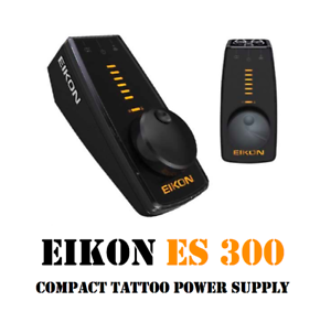 EIKON ES 300 Variable Voltage Compact Power Supply for Tattoo ...