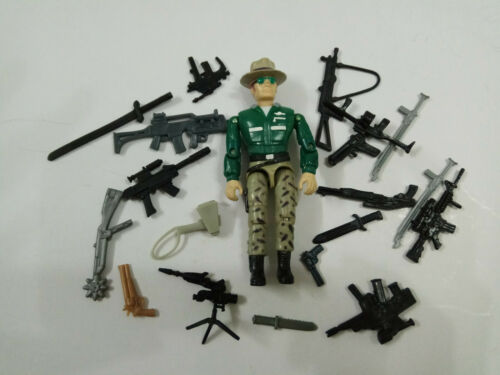 "3.75/"" Gi Joe Lanard  the Corps Soldier #016 With 20pcs Accessories Rare Figure"