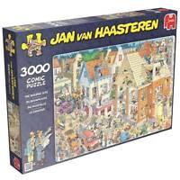 Jumbo Jigsaw Puzzle The Building Site Jan Van Haasteren 3000 Pcs Cartoon 17462